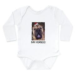 BAH HUMBUG HUMOROUS Long Sleeve Infant Bodysuit