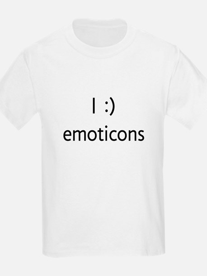 I :) emoticons T-Shirt