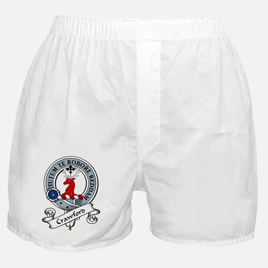 Crawford Clan Badge Boxer Shorts