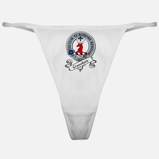 Crawford Clan Badge Classic Thong