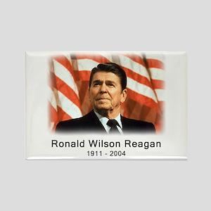 Ronald Reagan Rememberance Rectangle Magnet