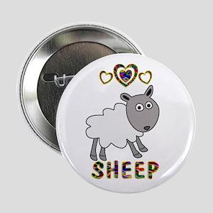 """Sheep 2.25"""" Button"""