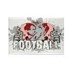 Football Rectangle Magnet (100 pack)