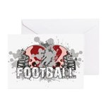 Football Greeting Cards (Pk of 20)