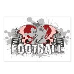 Football Postcards (Package of 8)