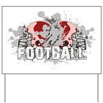 Football Yard Sign
