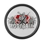 Football Large Wall Clock