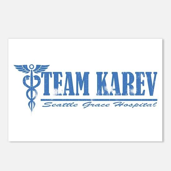 Team Karev SGH Postcards (Package of 8)