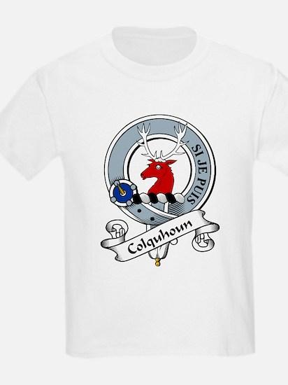 Colquhoun Clan Badge Kids T-Shirt