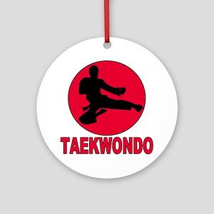 Taekwondo Ornament (Round)