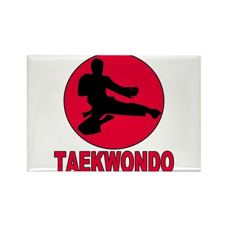Taekwondo Rectangle Magnet (10 pack)