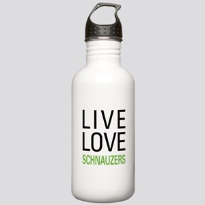Live Love Schnauzers Stainless Water Bottle 1.0L