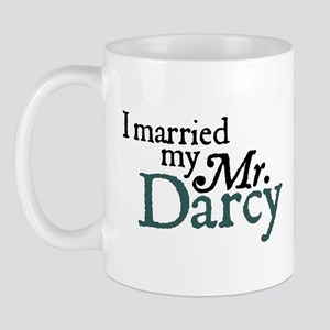 Jane Austen Married Darcy Small Mug