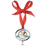 Oval Year Ornament