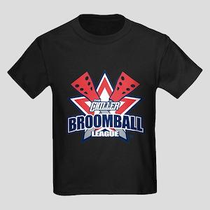 Broomball League Kids Dark T-Shirt