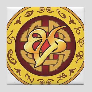 """""""Mourning"""" Rune - Tile Coaster"""