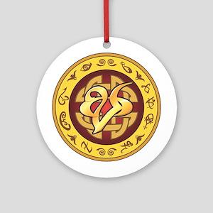 """Mourning"" Rune - Ornament (Round)"