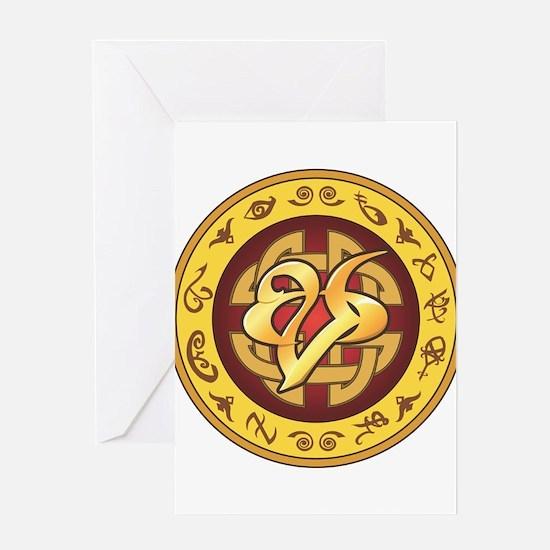 """Mourning"" Rune - Greeting Card"