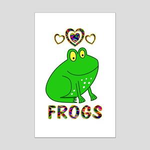 Frog Mini Poster Print