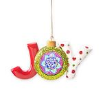 Blue Mandala Joy Ornament
