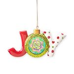 Golden Mandala Joy Ornament