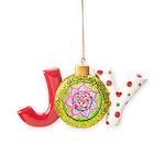 Rose Mandala Joy Ornament