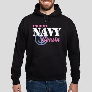 Proud Navy Cousin Hoodie (dark)
