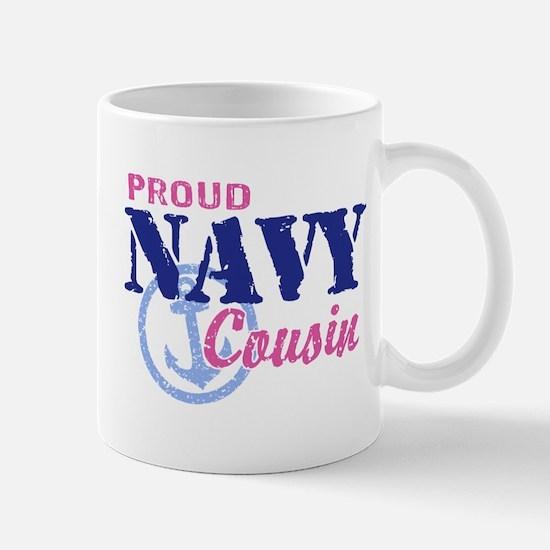 Proud Navy Cousin Mug
