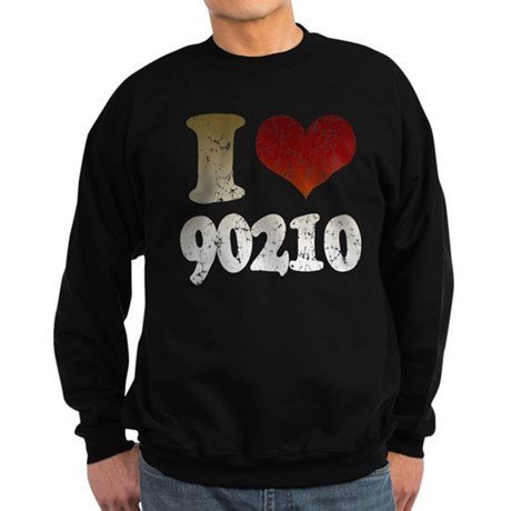 I heart 90210 Sweatshirt (dark)