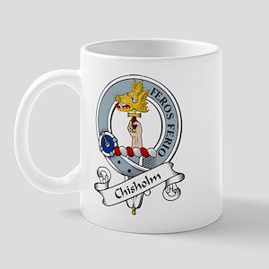 Chisholm Clan Badge Mug