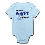 Proud navy cousin omesie Bodysuits