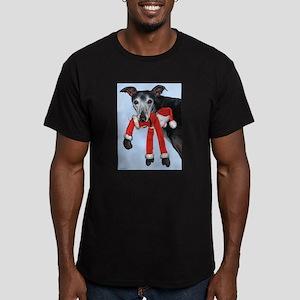 Naughty Men's Fitted T-Shirt (dark)