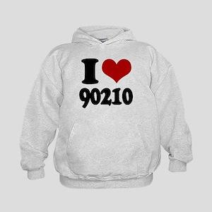 I heart 90210 Kids Hoodie