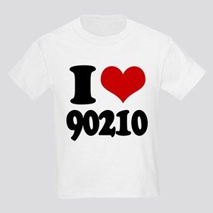 I heart 90210 Kids Light T-Shirt