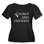 Sober and Orderly Women's Plus Size Scoop Neck Dar
