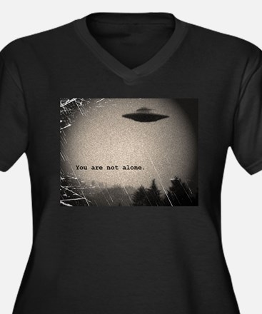 You Are Not Alone - large Plus Size T-Shirt