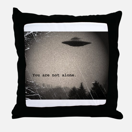 Cute Mysterious Throw Pillow