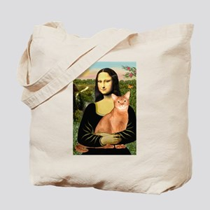Mona's Red Abyssinian Tote Bag