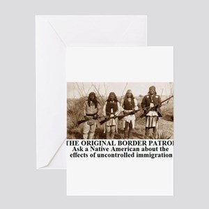 THE ORIGINAL BORDER PATROL1 Greeting Cards