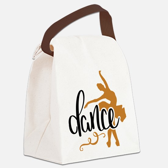 Cute Dance Canvas Lunch Bag