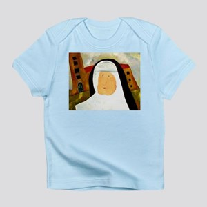 NUN WITH A PEARL EARRING Infant T-Shirt