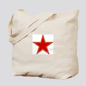 Soviet Red Star Tote Bag