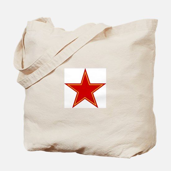 Soviet Red Star Tote Bag
