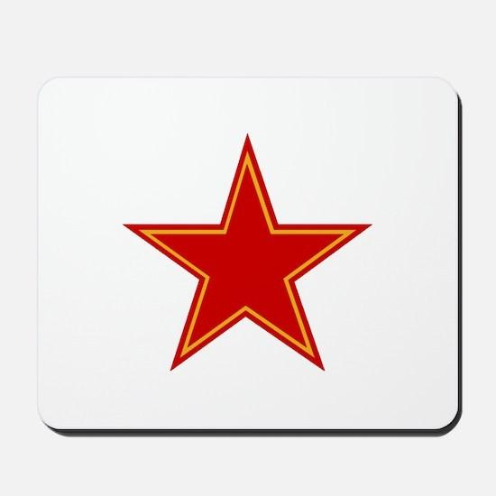 Soviet Red Star Mousepad
