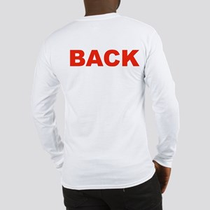 FRONT-BACK Long Sleeve T-Shirt