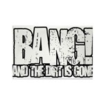 Bang Rectangle Magnet (100 pack)
