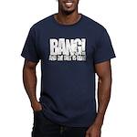 Bang Men's Fitted T-Shirt (dark)