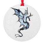 Reindragon Round Ornament