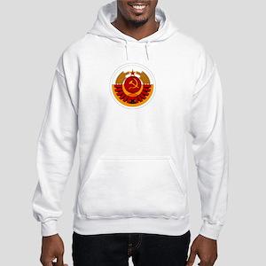 USSR Cosmonaut Hooded Sweatshirt