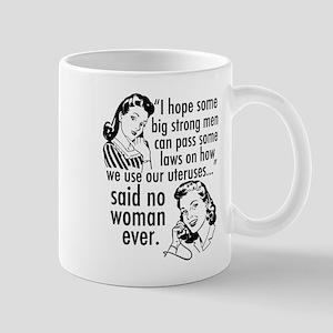 Pro Choice Cartoon Humor 11 oz Ceramic Mug